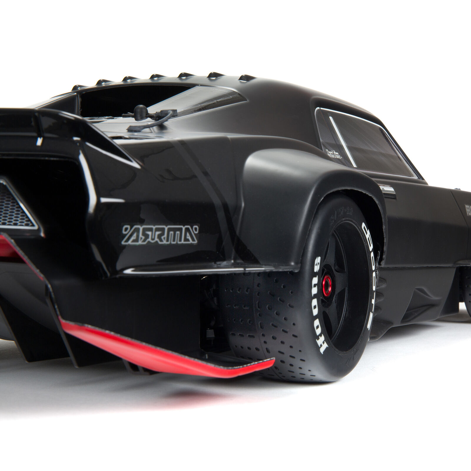 1/7 FELONY 6S BLX Street Bash All-Road Muscle Car RTR, Black