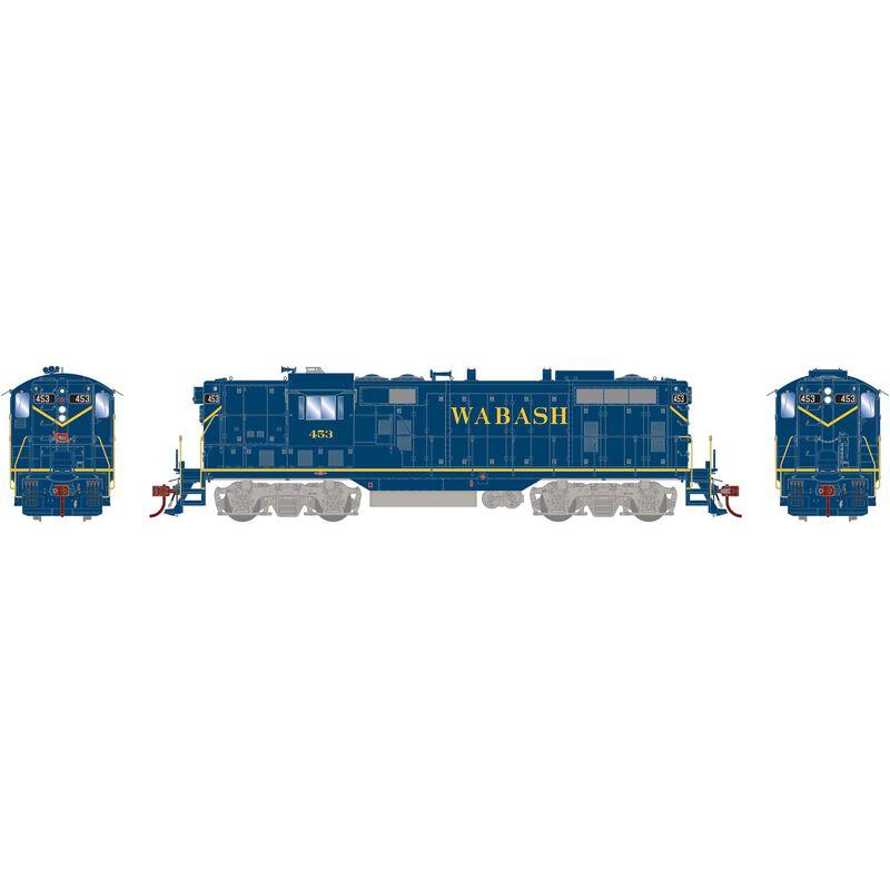 HO GP7 with DCC & Sound Wabash Blue #453