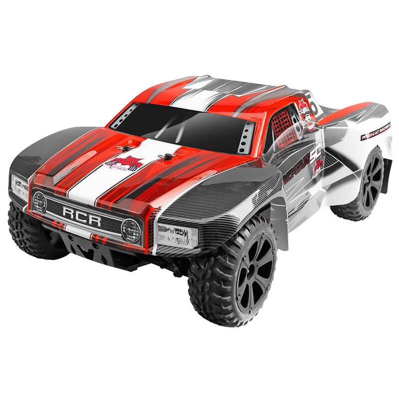 1/10 Blackout SC 4WD Short Course Truck Brushed RTR, Red