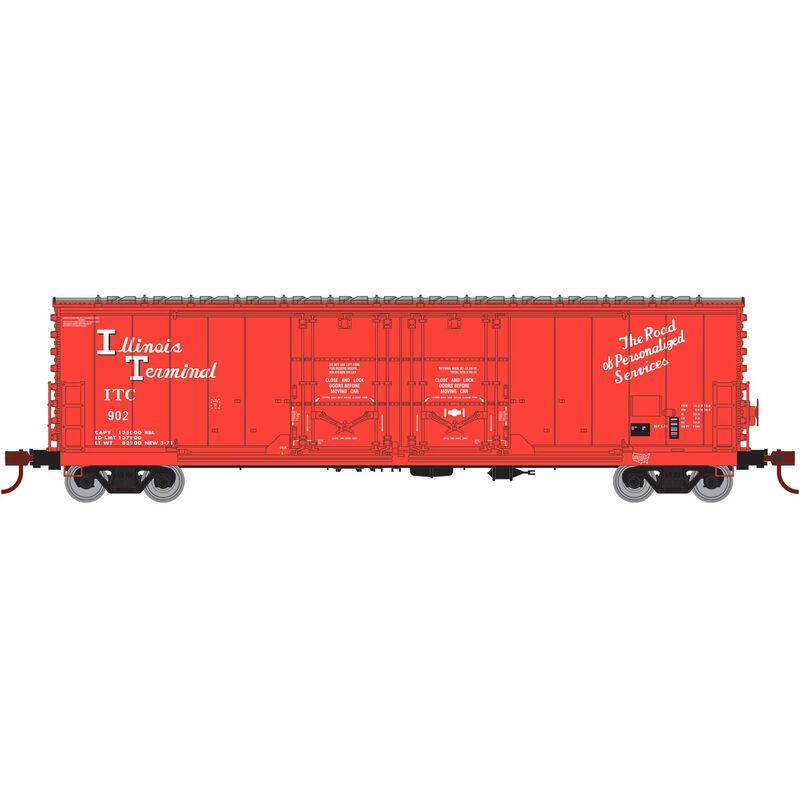 HO RTR 50' Evans DD Plug Box ITC #902