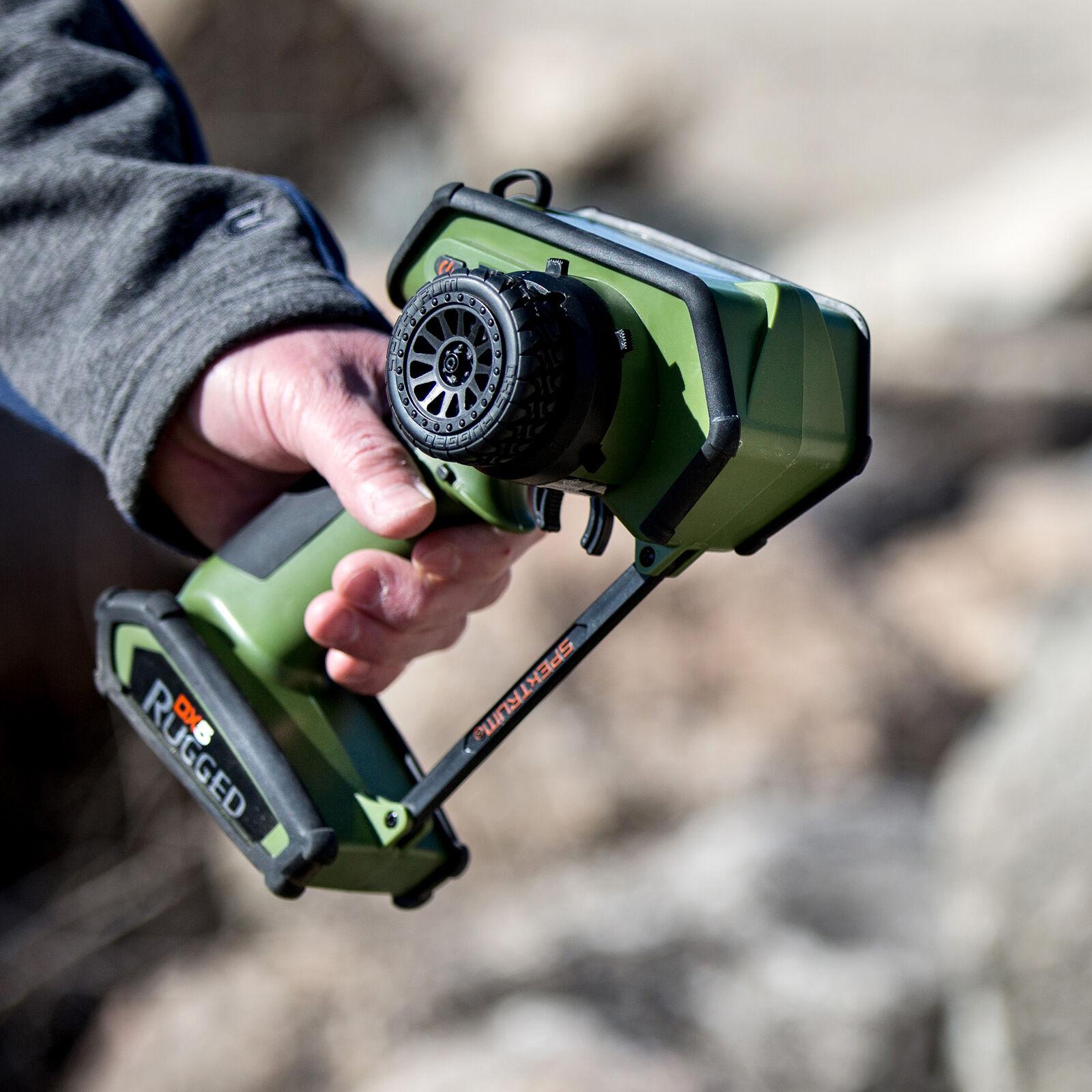 DX5 Rugged 5-Channel DSMR Transmitter Only, Green