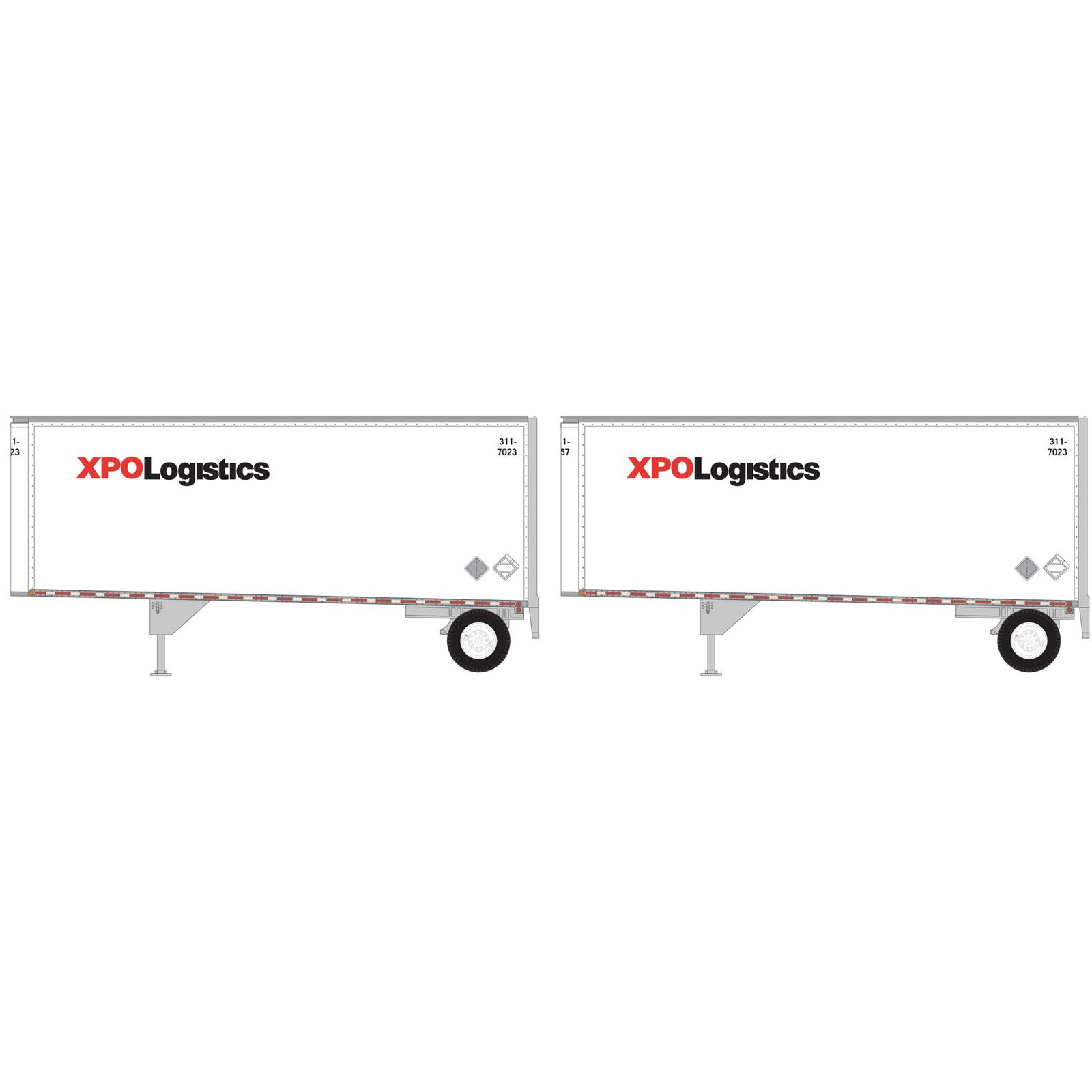 N 28' Trailers with Dolly XPO (2)
