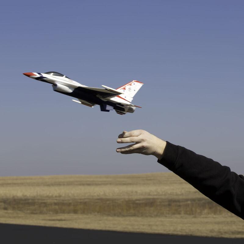 UMX F-16 28mm EDF Jet BNF Basic