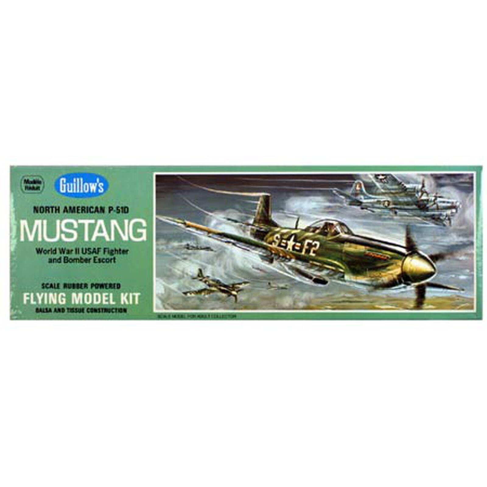 "North American P-51D Mustang Kit, 17"""