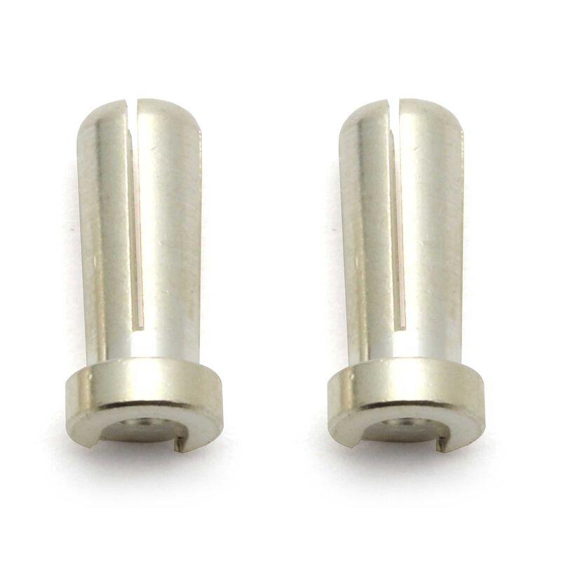 Reedy Low-Profile Bullet Connectors, 5mm (2)