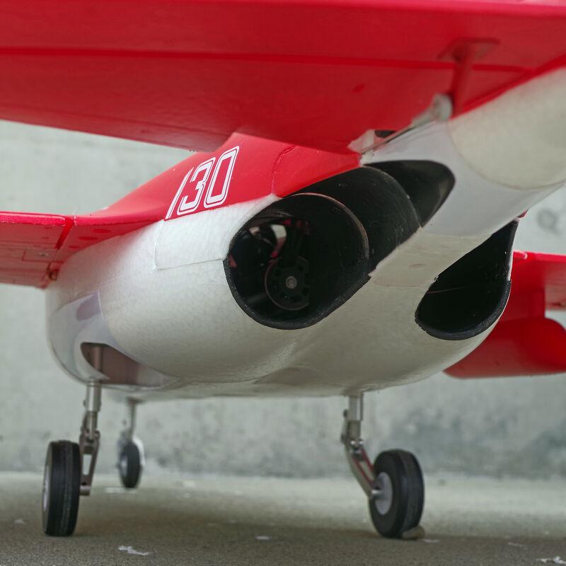 YAK-130 Jet 70mm EDF V2 Red PNP, 880mm