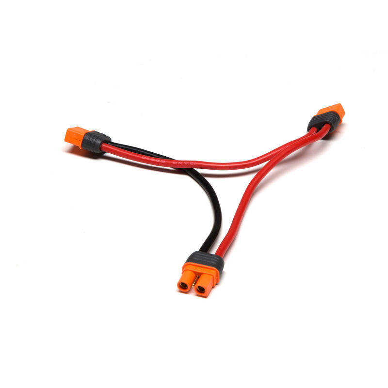 """Series Harness: IC3 Battery with 6"""" Wires, 13 AWG"""
