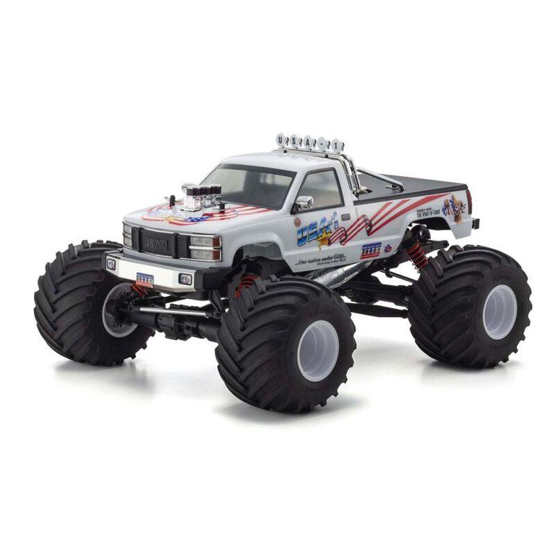 1/8 USA-1 Nitro .25 Powered Monster Truck RTR