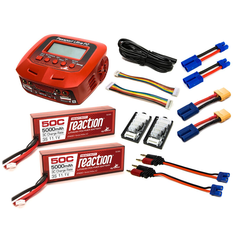 Powerstage Bundle - Stage 6: 6S (2 x 3S) LiPo: EC5