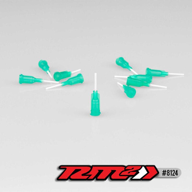 Glue Tip Needles, Medium Bore, Green (10)