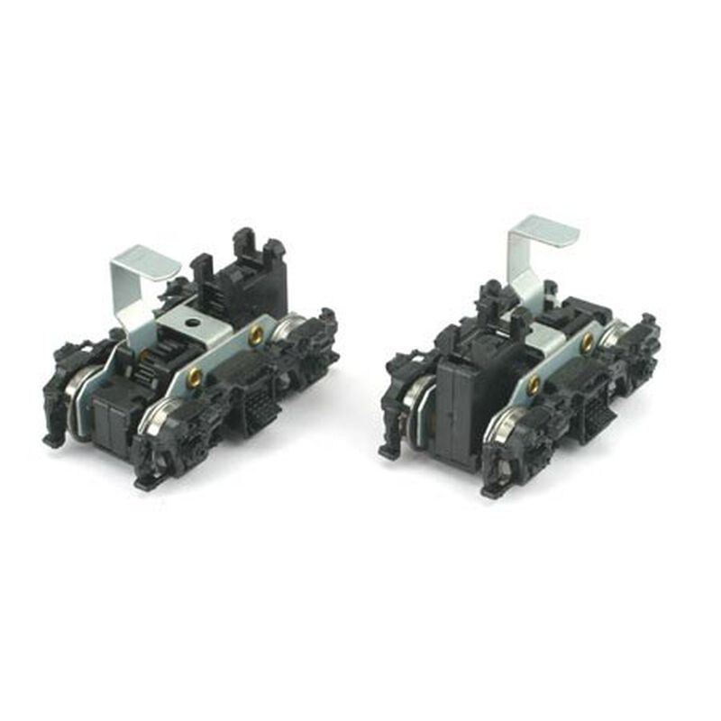 HO Front/Rear Power Truck Set, F7/GP7