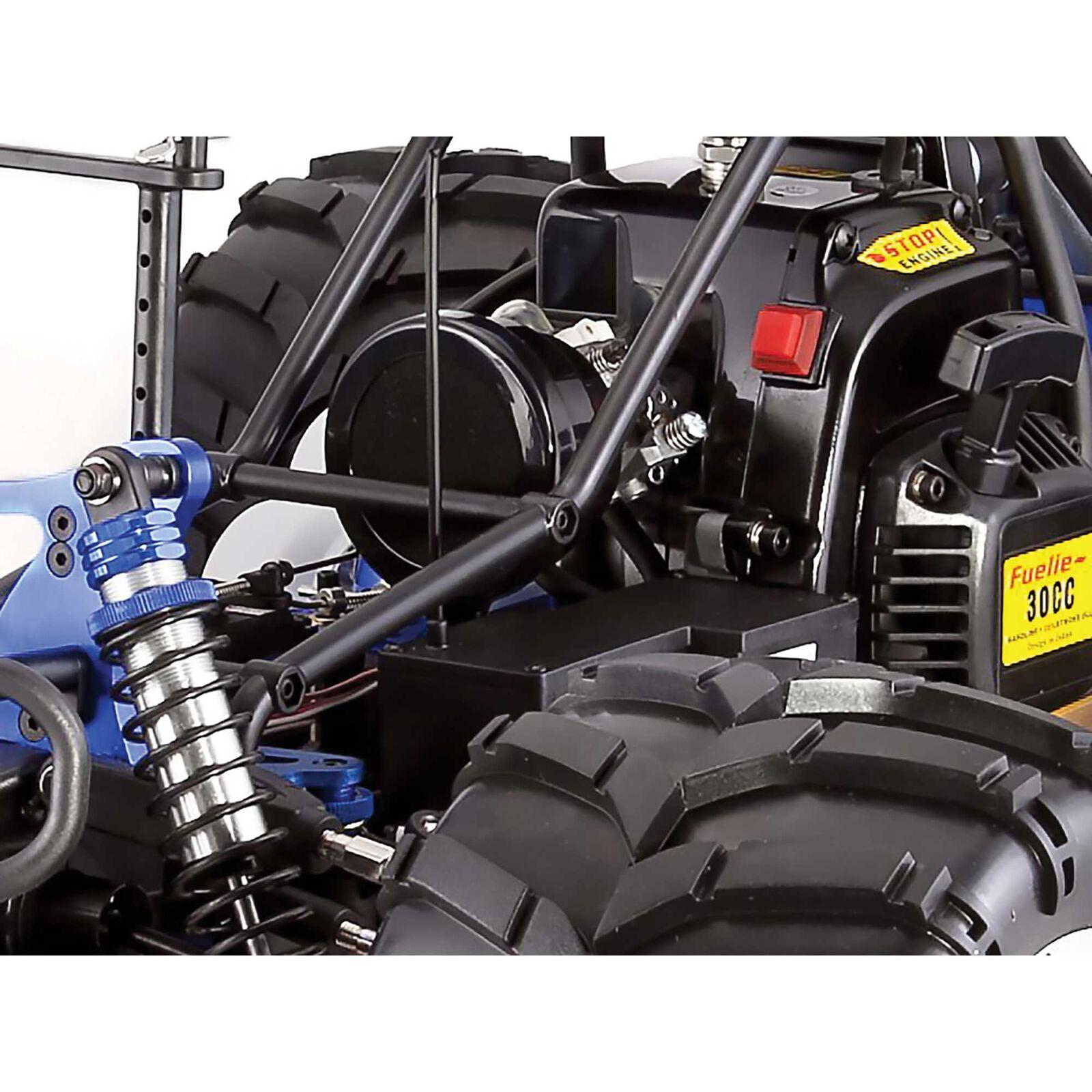 1/5 Rampage MT V3 4WD Gas Monster Truck RTR, Orange Flame