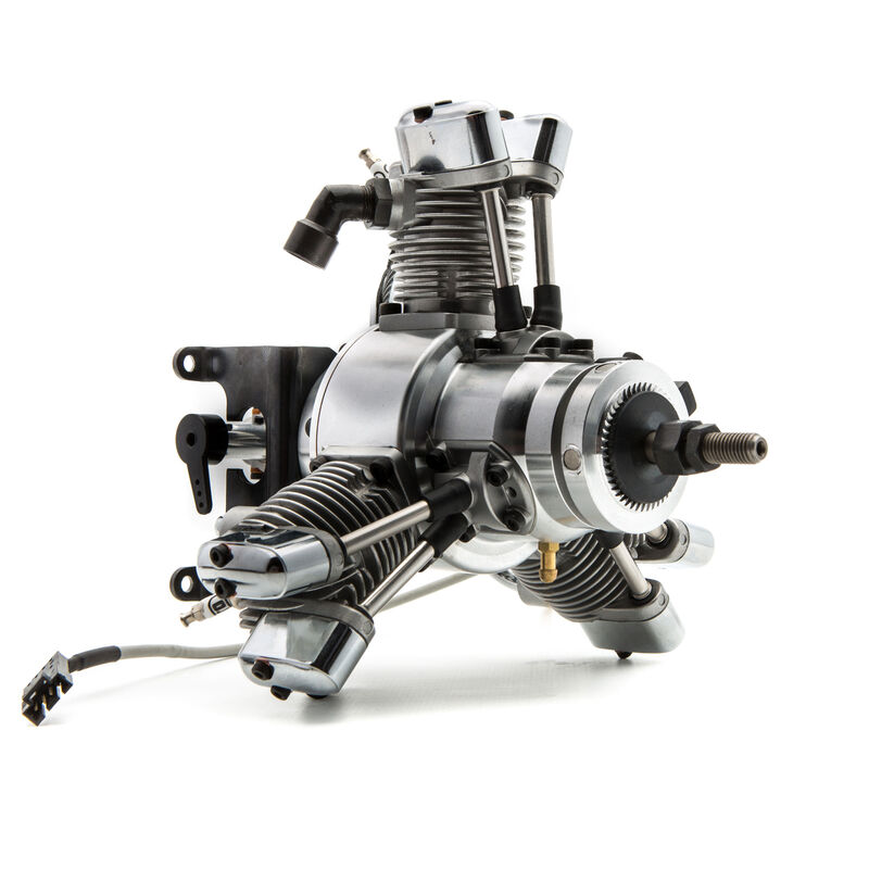 FG-19R3 3-Cylinder Gas Radial Engine: CB