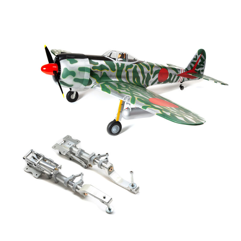 "Ki-43 Oscar 60cc ARF, 88"" with Hangar 9 Main Retract Set"