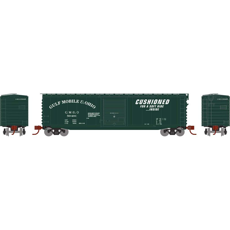 N 50' PS-1 Single Door Box GM&O #59491