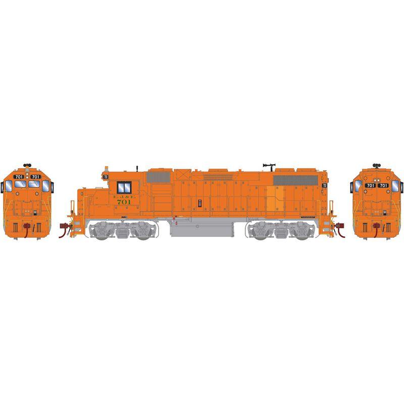 HO GP38-2 with DCC & Sound, EJ&E #701