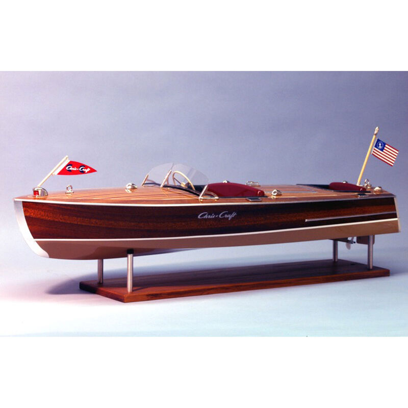 1/8 1949 Chris-Craft Racing Runabout Boat Kit, 28""
