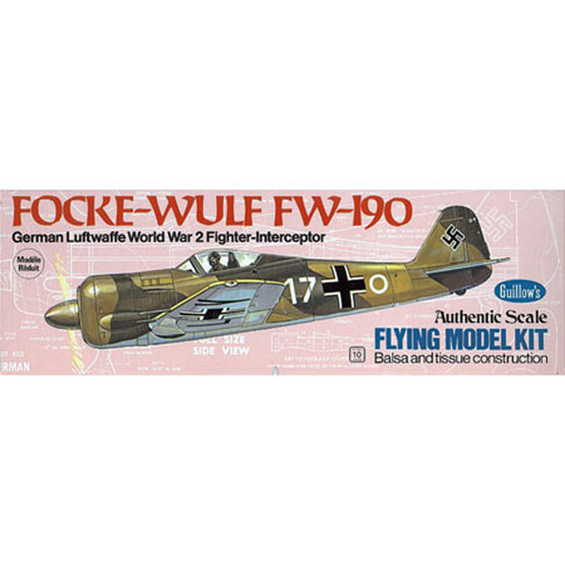 "Focke-Wulf FW-190 Kit, 16.5"""