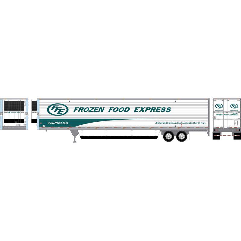 HO RTR 53' Utility Reefer Trailer Frozen Food Exp #765041