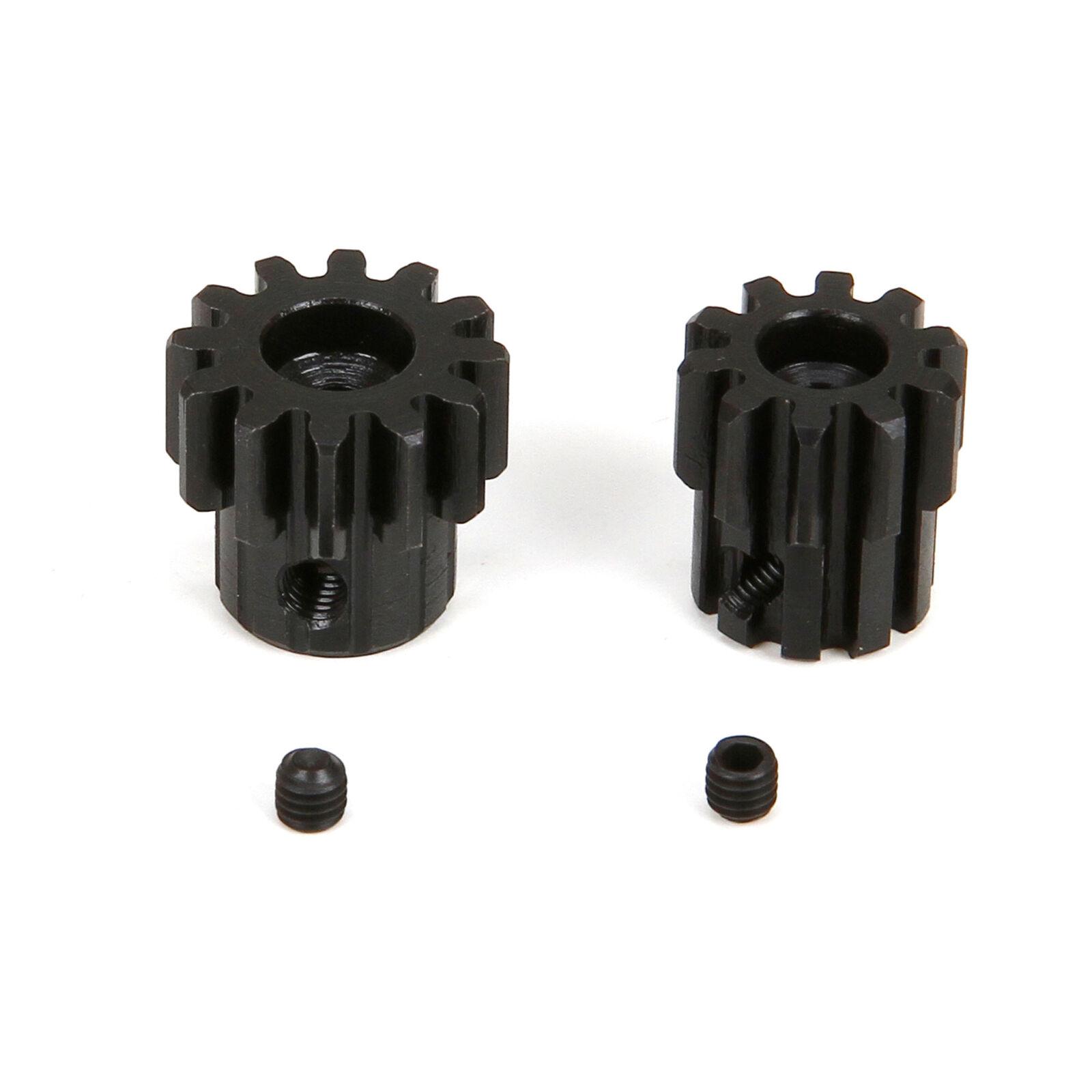 Pinion Gear, 9T/12T x 3mm, Mod 1