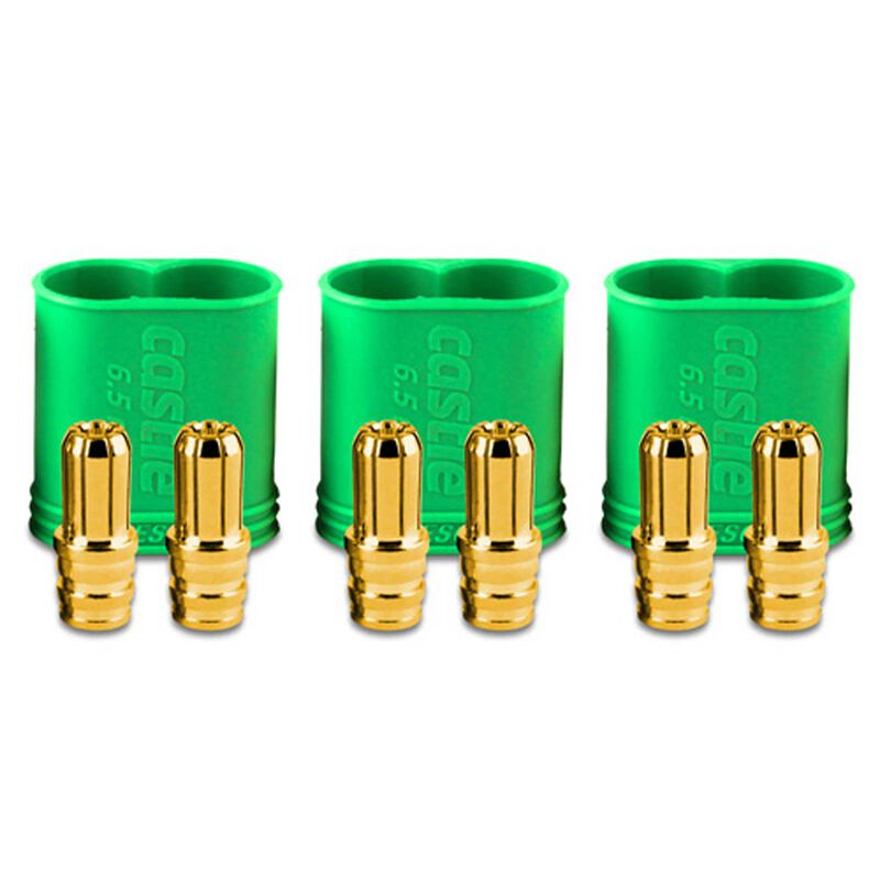 Connector: 6.5mm Polarized Bullet Device (3)