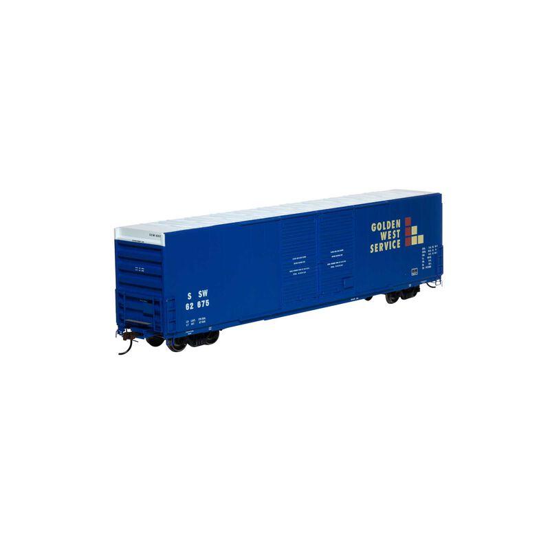 HO RTR FMC 60' DD SS Hi-Cube Box SSW GWS #62675