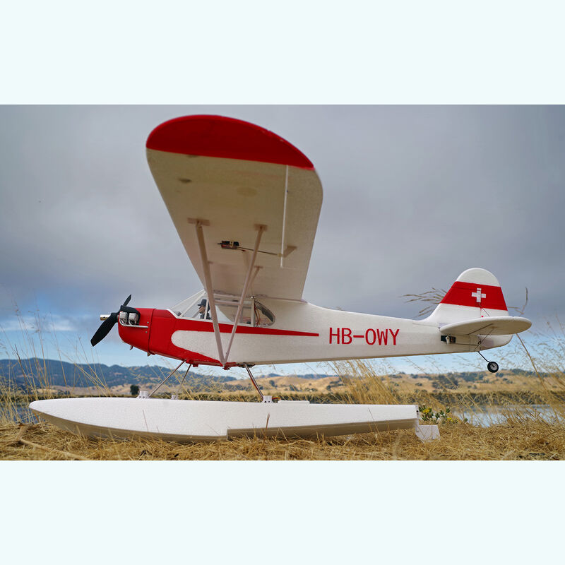 Piper J-3 Cub V3 PNP with Floats, 1400mm