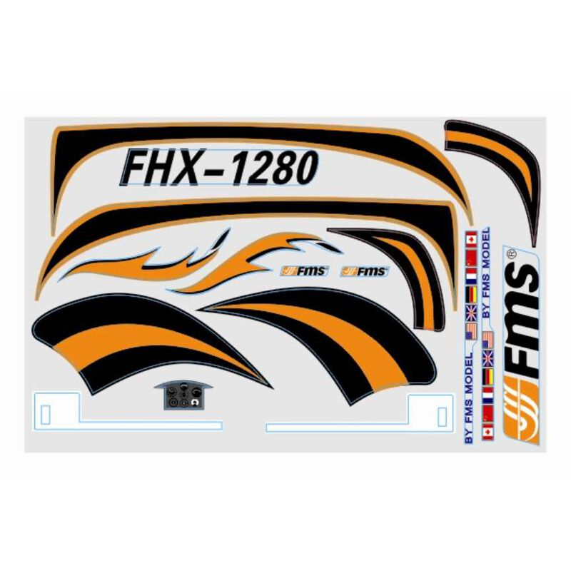 Decal Sheet: Easy Trainer 1280mm