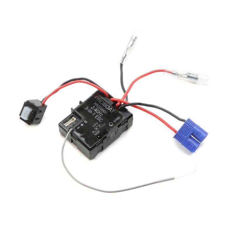ESC/Receiver 2.4GHz: 9-inch Sprintjet