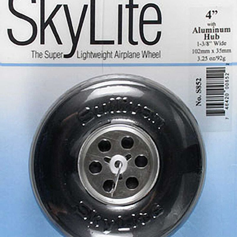 "Sky Wheel w/Alum Hub 4"""