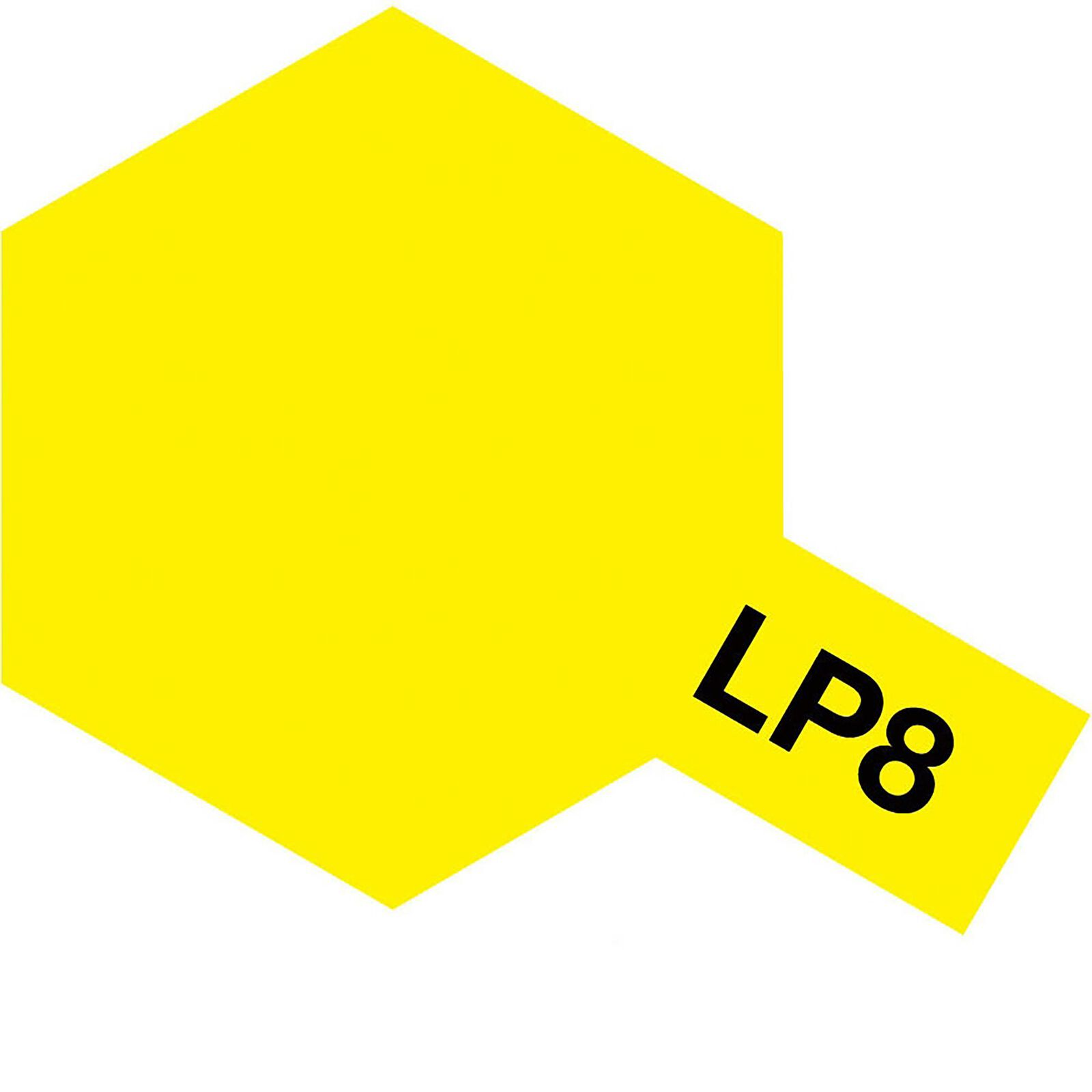 Lacquer Paint, LP-8 Pure Yellow, 10 mL