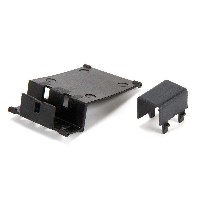 Battery Holder with Covers: 1/24 4WD Temper