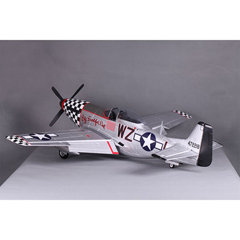 P-51D Big Beautiful Doll PNP V8, 1450mm