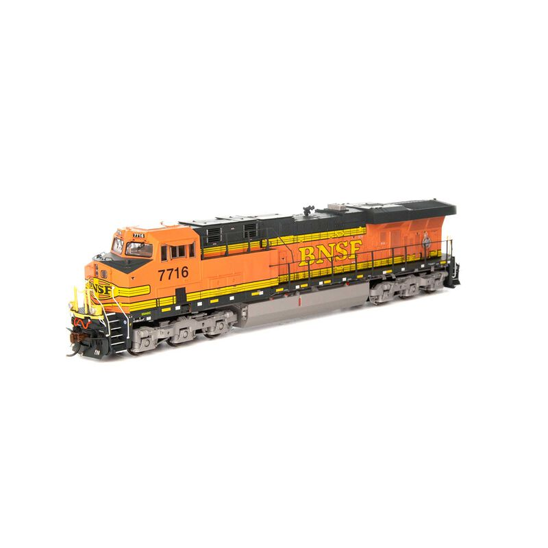 HO ES44DC with DCC & Sound BNSF Faded H1 #7716