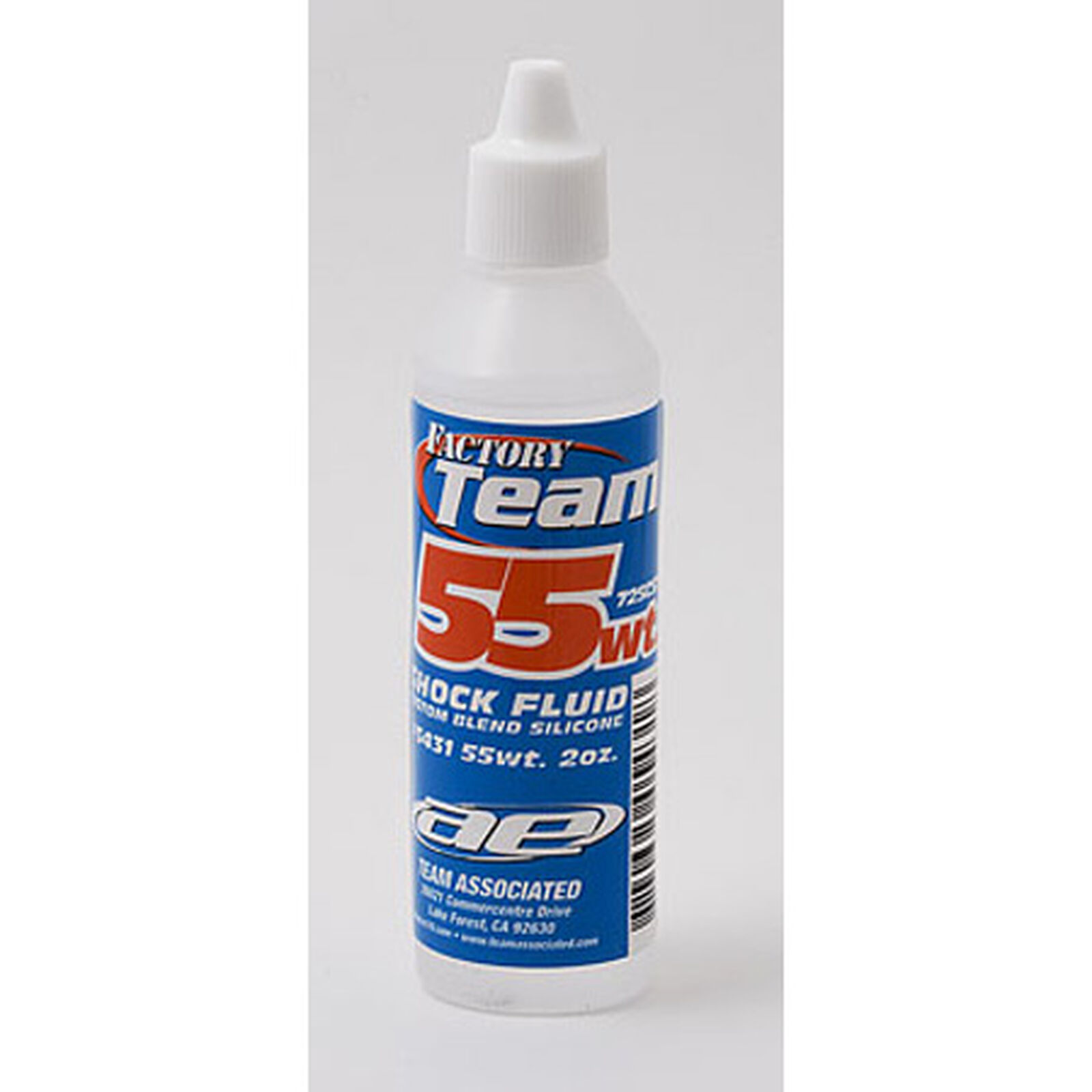 Factory Team Silicone Shock Fluid, 55Wt (725 cSt) 2 oz
