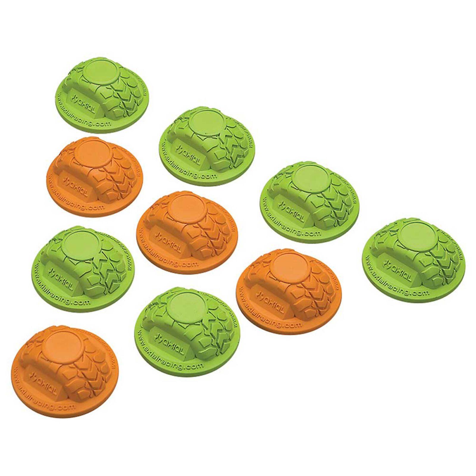 Gate Marker Set Green Orange (10)