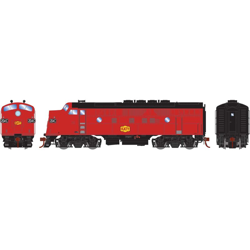 HO F3A MKT Freight #204C