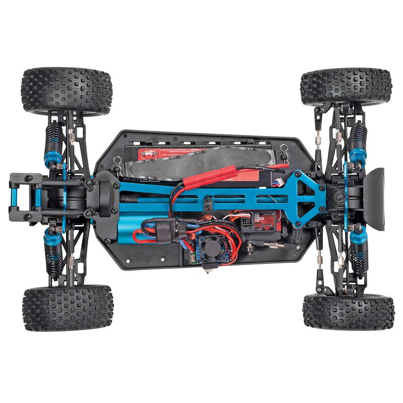 1/10 Tornado EPX PRO 4WD Buggy Brushless RTR, Blue/Silver