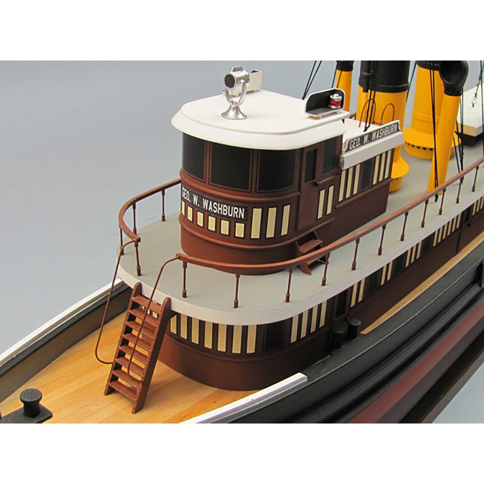 "1/48 George W. Washburn Tugboat Kit , 30"""