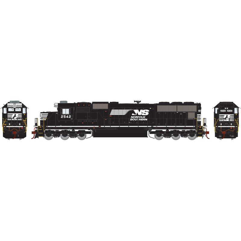 HO SD70 with DCC & Sound, NS/Horse Head #2542
