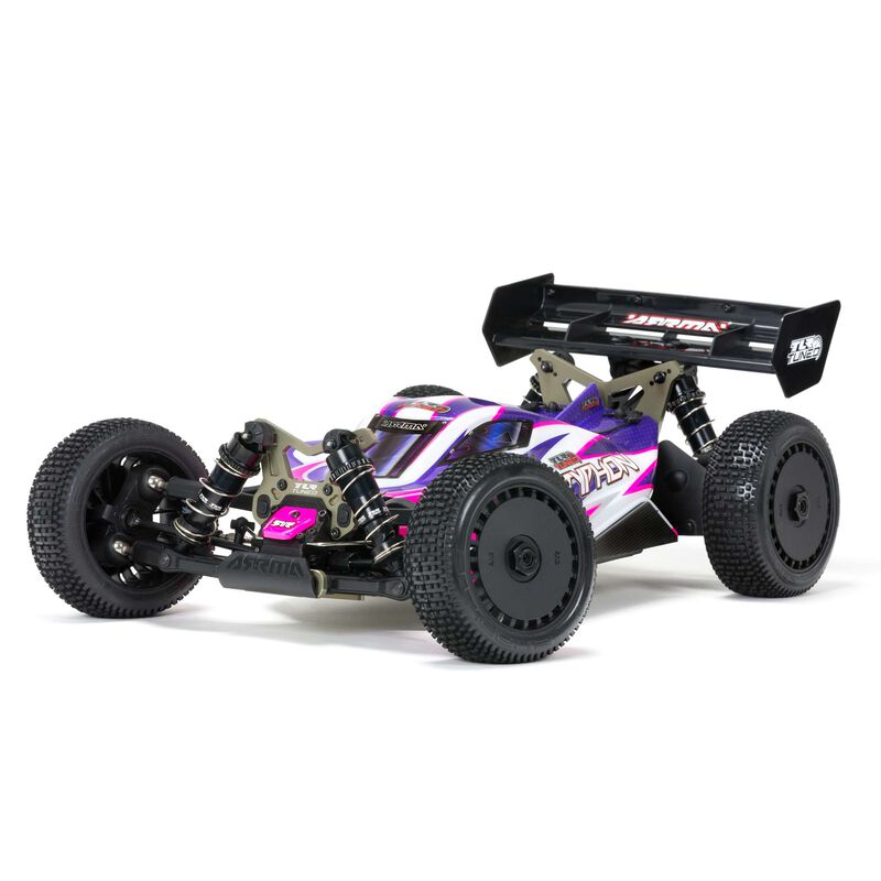 1/8 TLR Tuned TYPHON 4WD Roller Buggy, Pink/Purple