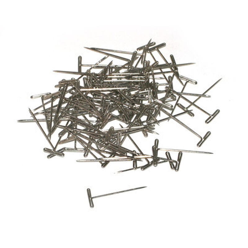 """T-Pins, Nickel Plated, 1"""" (100)"""