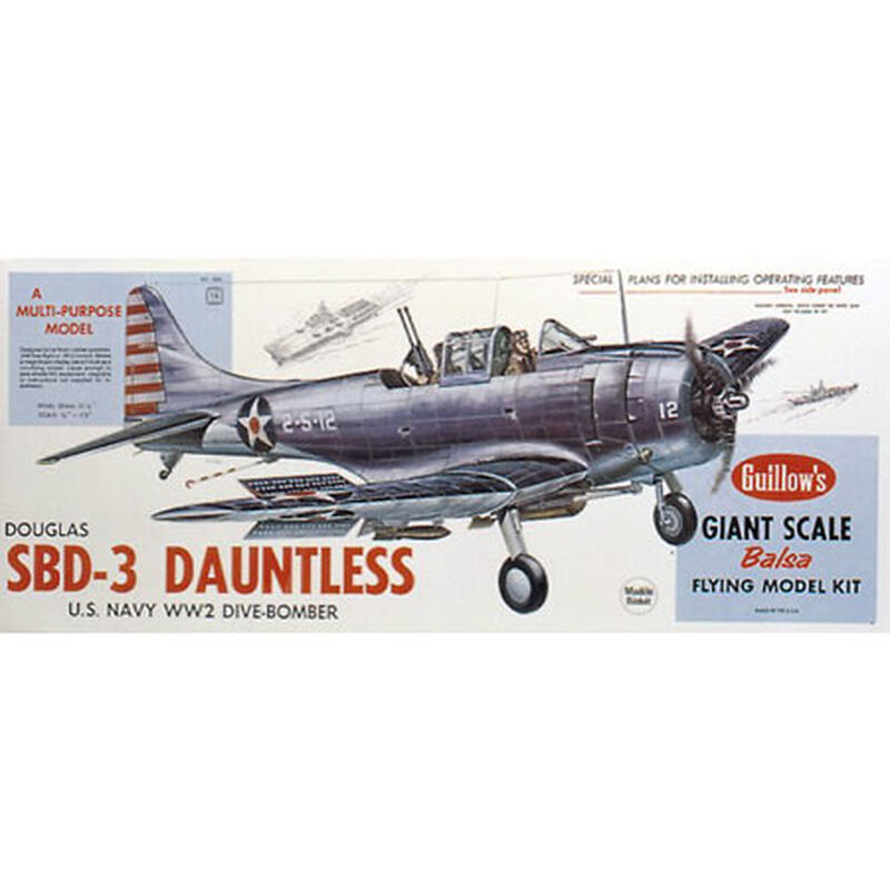 Douglas SBD-3 Dauntless Kit, 31""