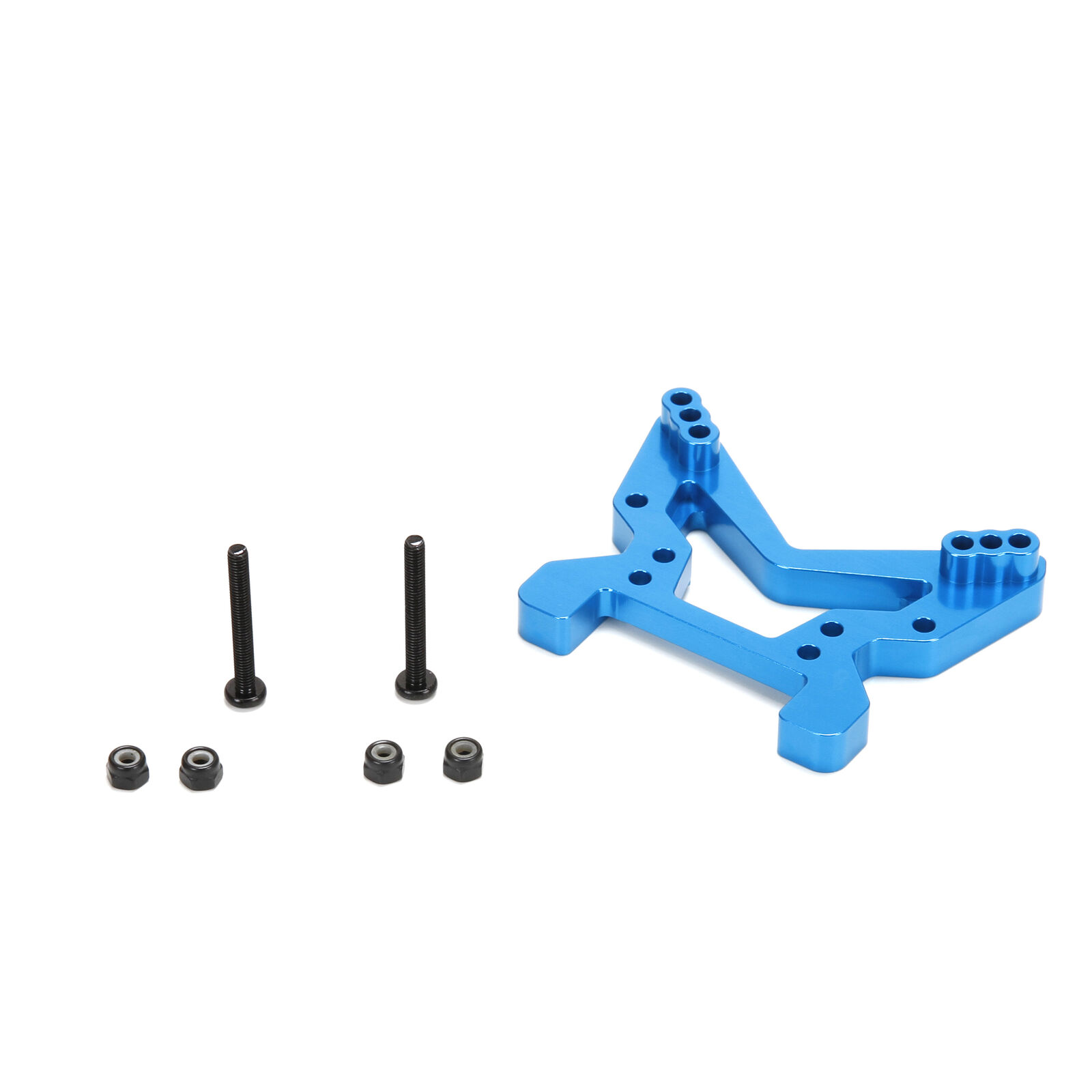 Front Shock Tower, Aluminum: All ECX 1/10 4WD