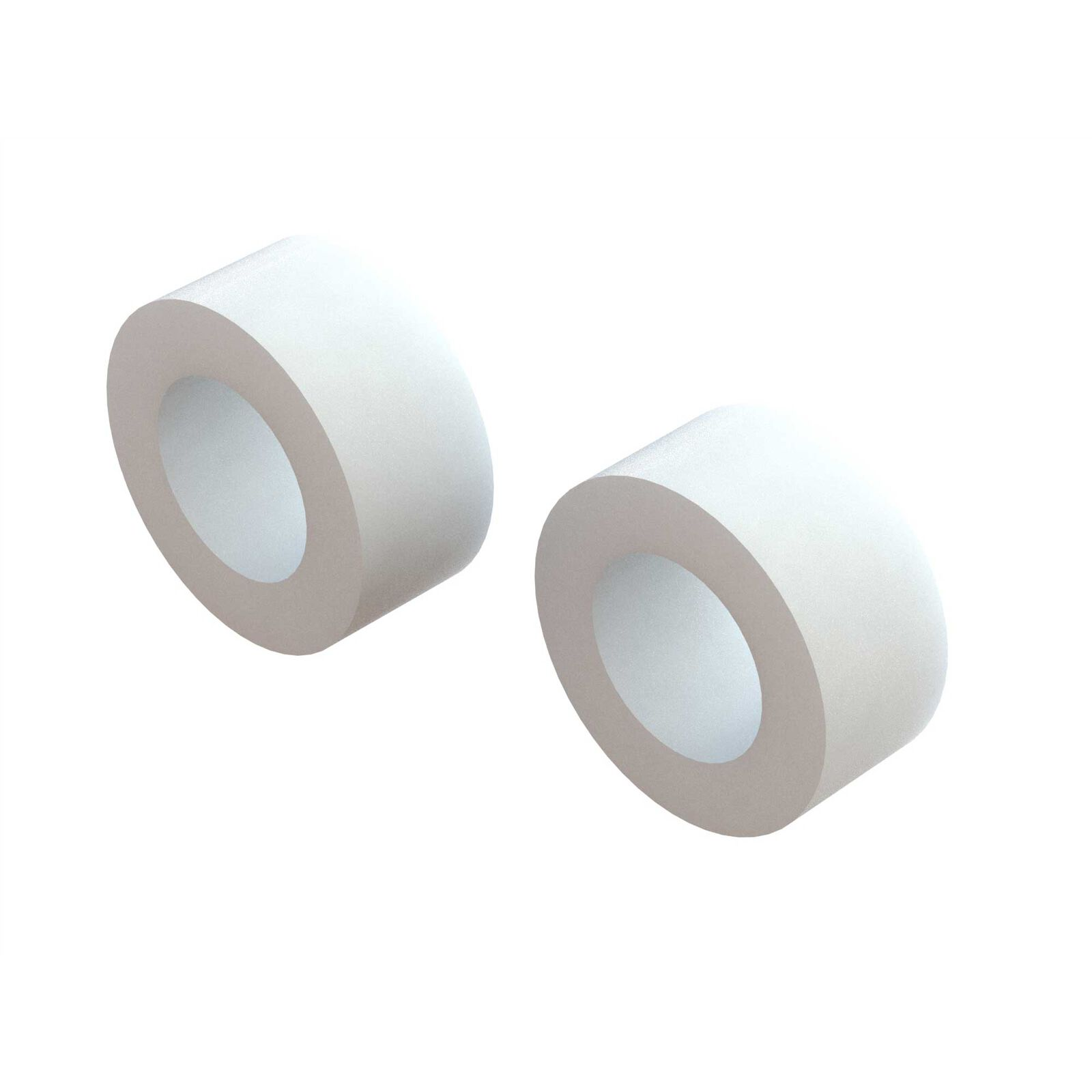 1/8 Front/Rear 2.8 Medium Foam Tire with Inserts, (2)