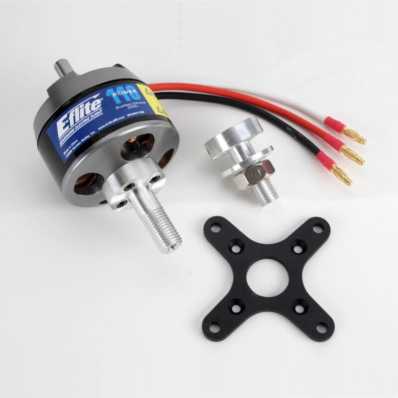 Power 110 Brushless Outrunner Motor, 295Kv