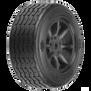 1/10 PROTOform VTA Front 26mm VTA Tires Mounted 12mm Blk Wheels (2)