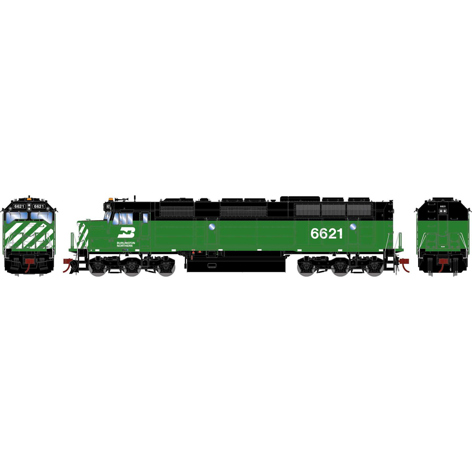 HO F45 with DCC & Sound, BN #6621