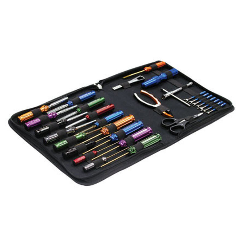 Complete 29 pc Racing Tool Set/Pro Carrying Bag