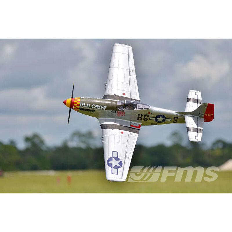P-51D V8 Old Crow PNP, 1450mm